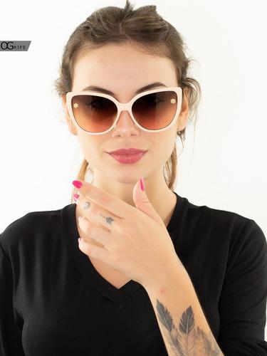 oculos ogrife solar og 1597-c feminino blogueira grande