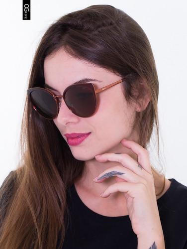 oculos ogrife solar og 2078-c feminino polarizado original