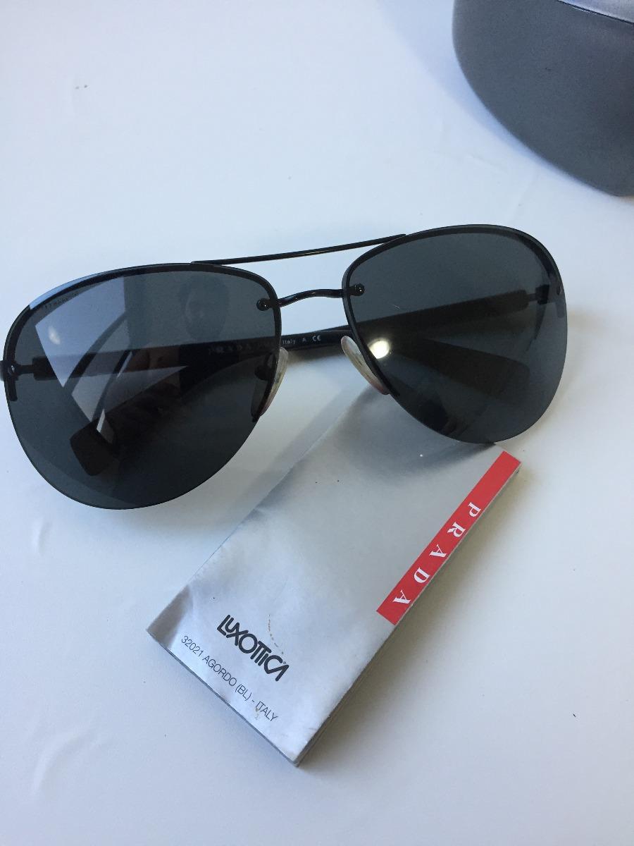 460321e7f0917 Oculos Original Prada Masculino Semi Novo - R  490,00 em Mercado Livre