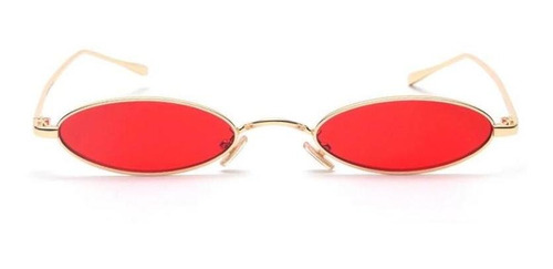 óculos oval redondo trap hype rap retro vermelho preto