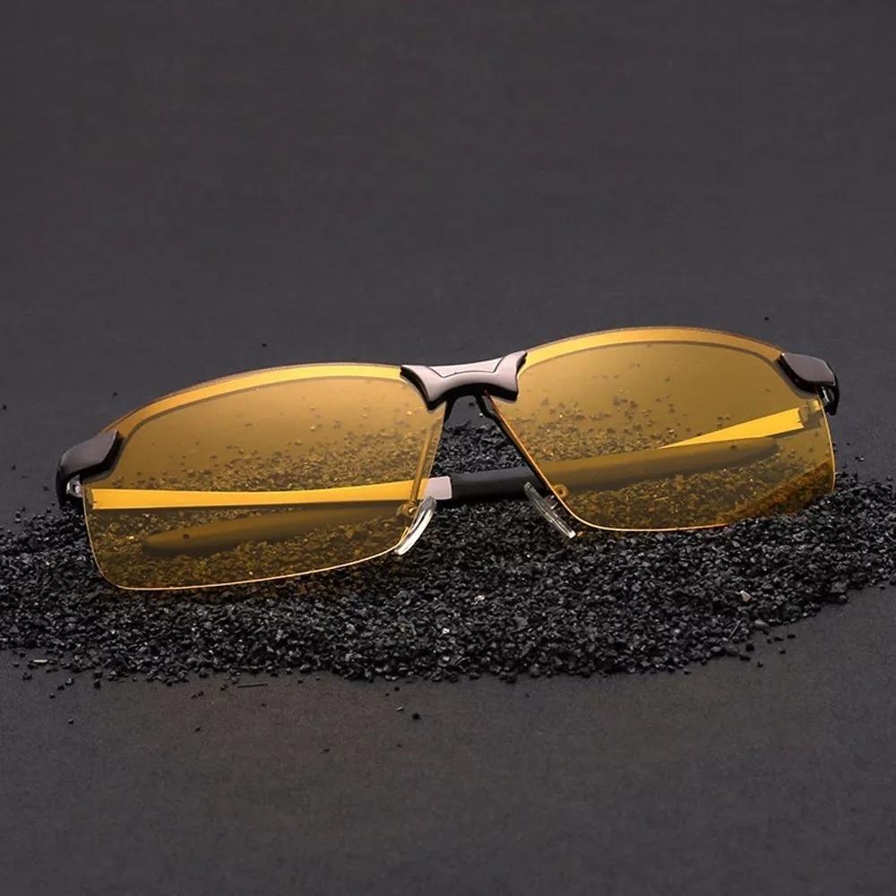 9dd30eb89 óculos p/ dirigir à noite amarelo polarizado proteção uv400. Carregando zoom .