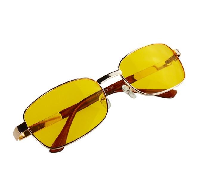 db58ef4b5b81c Óculos P  Dirigir À Noite Anti Reflexo Amarelo Proteção Uv - R  99 ...