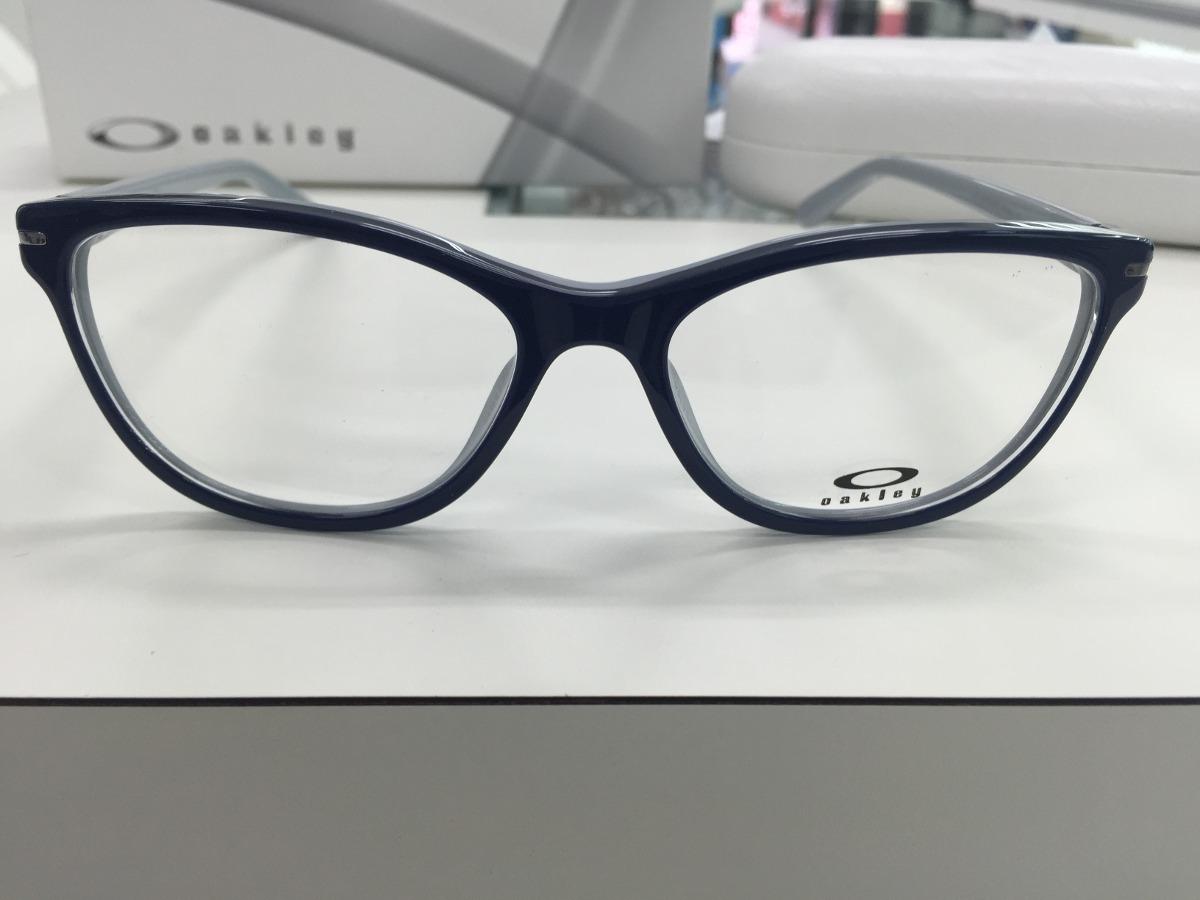 35504e460 Oculos P/ Grau Oakley Feminino Stand Out Ox1112-0553 Peacoat - R ...