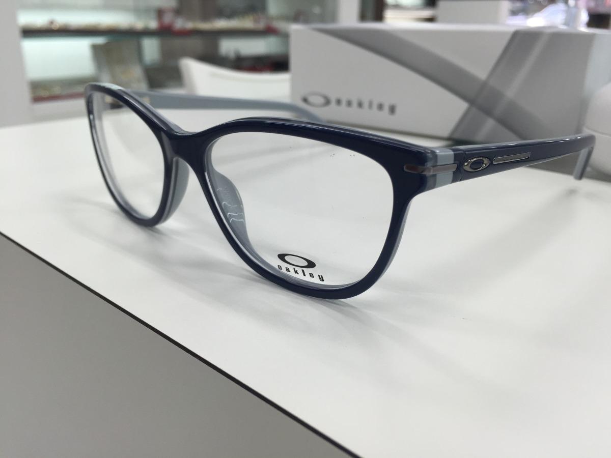 oculos p  grau oakley feminino stand out ox1112-0553 peacoat. Carregando  zoom. 3807034a01