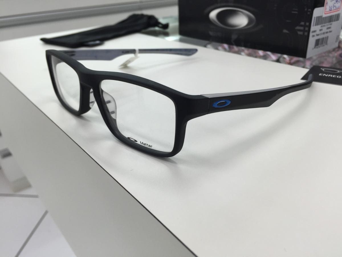 d4a8c96d19 oculos p  grau oakley plank 2.0 ox8081-0153 santin black. Carregando zoom.
