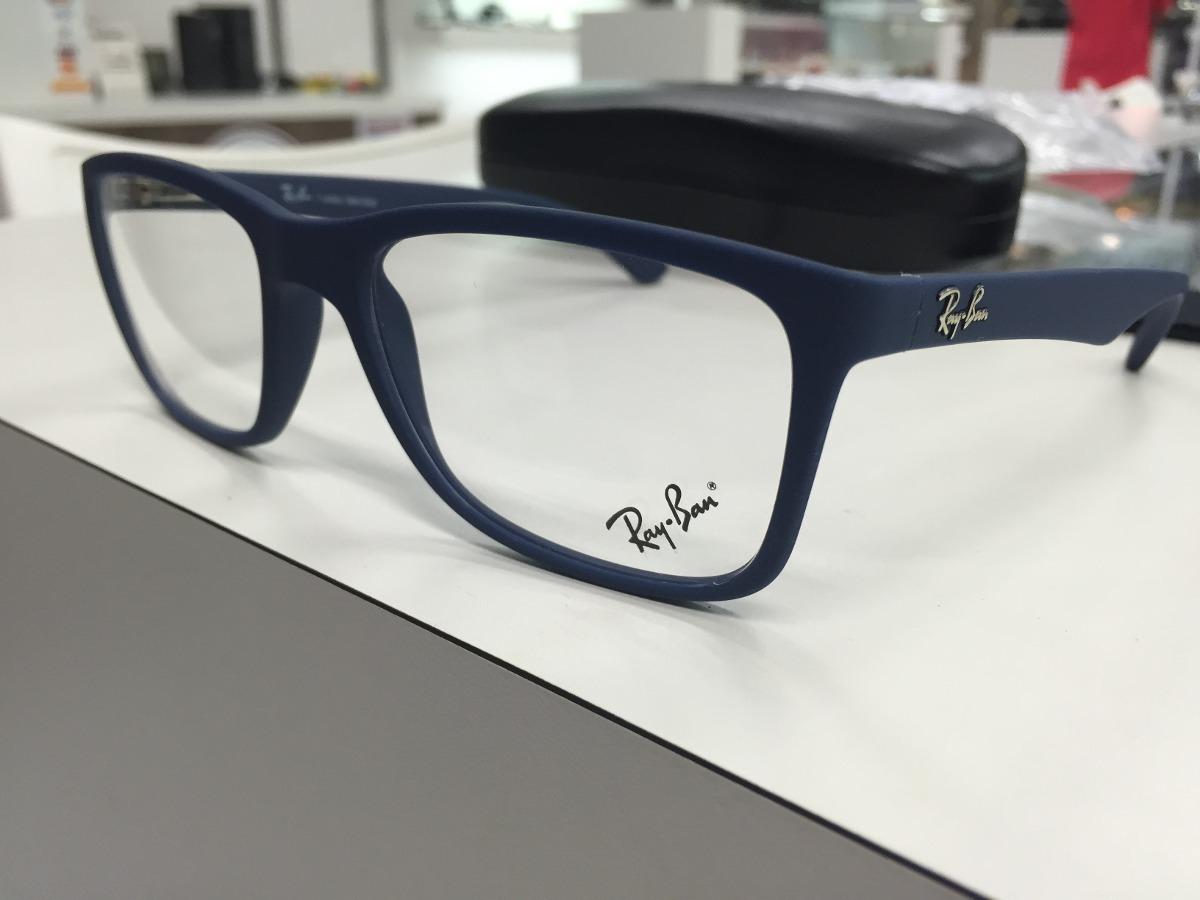 14714f9c6 oculos p/ grau ray ban rb 7027l 5412 54 original p. entrega. Carregando  zoom.