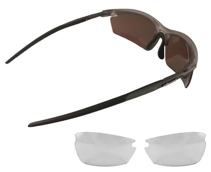 Oculos Para Ciclismo Elleven Blade Cinza Preto 2 Lentes - R  139,00 ... 47bb83ae31