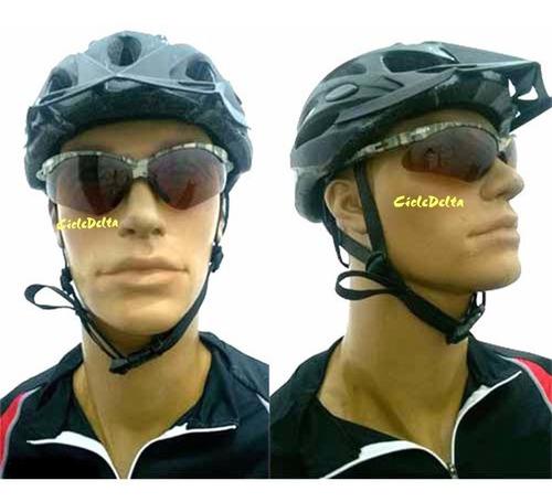 óculos  para  ciclista nemesis camuflado proteção uv
