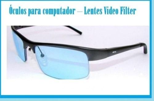 dce184fd60cd0 Óculos Para Computador Com Filtro Lentes Video Filter - R  134,63 em ...