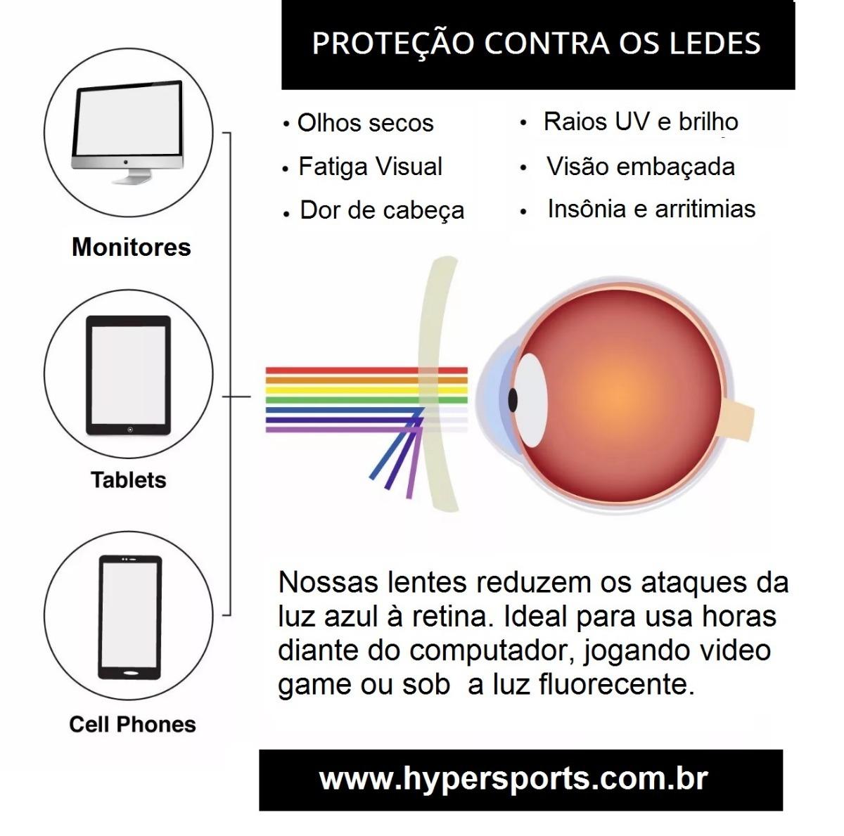 Óculos Para Computador Com Lentes Blue Control Filter Uv - R  189,90 ... c579079f40