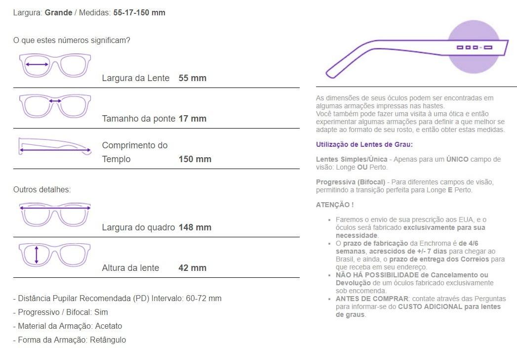 e94587efb1582 Óculos Para Daltônicos Enchroma Solano Preto Outdoor S Juros - R ...