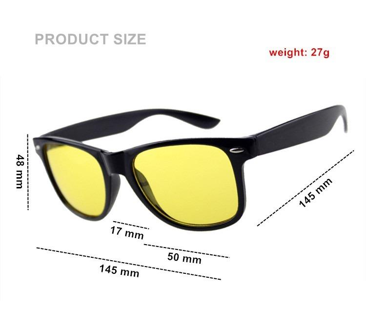 0ed519b3fa564 Óculos Para Dirigir A Noite Visão Noturna Lente Amarela - R  120,90 ...