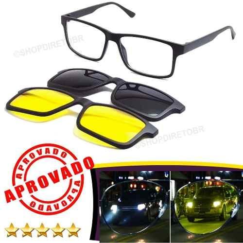 Óculos Para Dirigir À Noite E De Dia Dirija C  Segurança Top - R ... 2edc625c40