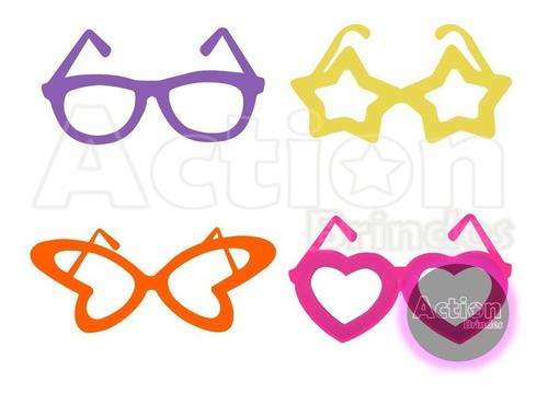 óculos para festa colorido - kit 40 unidades