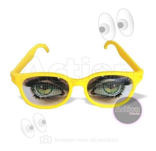 óculos para festa olhos kit 4 unidades