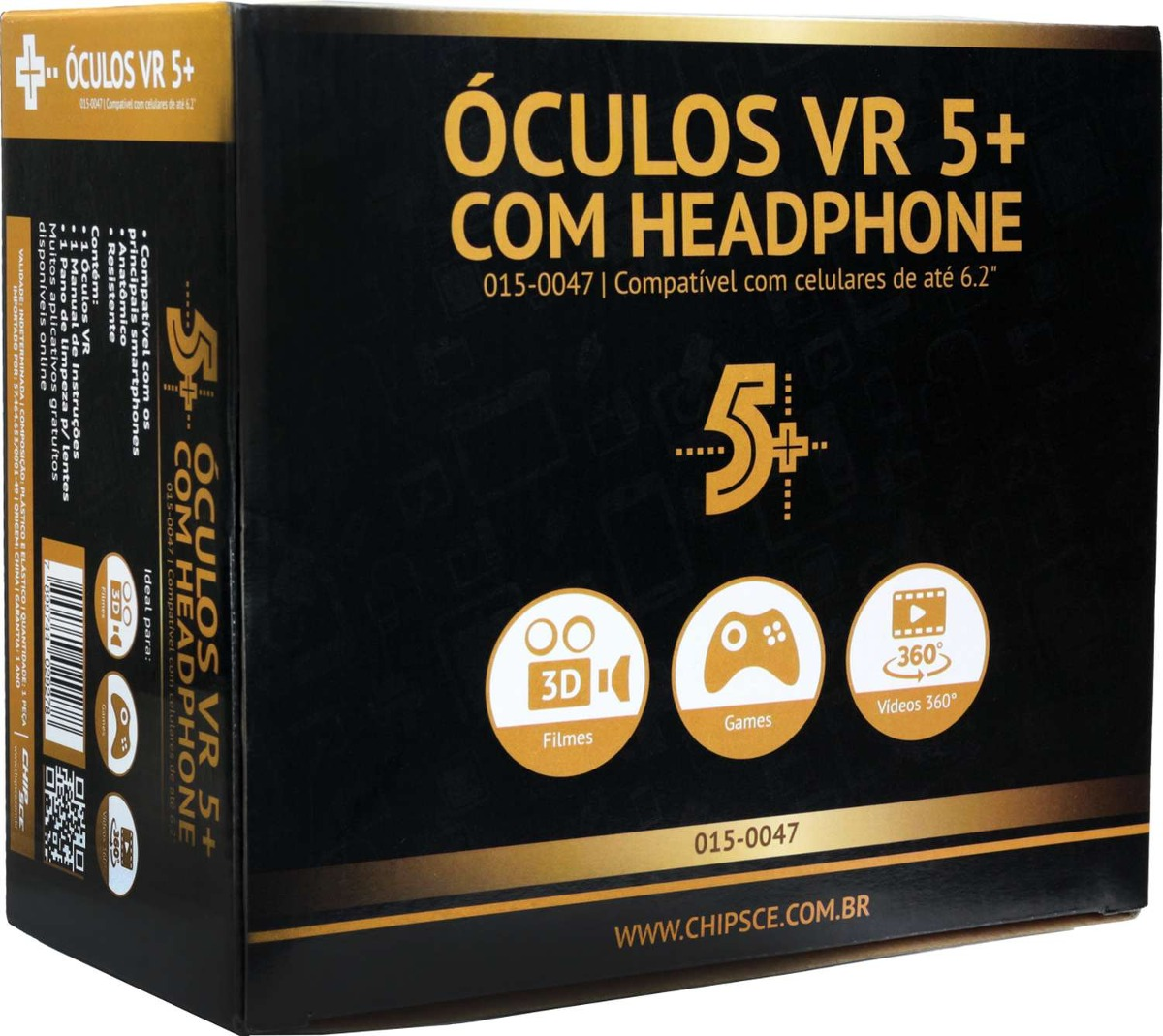 Oculos Para Games Realidade Virtual 3d C fone Un - R  210,10 em ... 0834613124