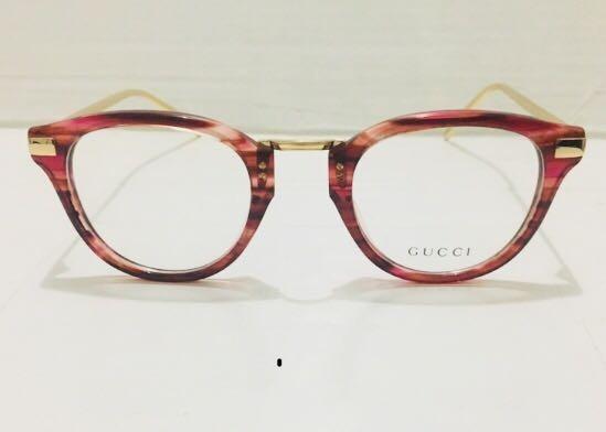d64349c27fce4 Óculos Para Grau Gucci Feminino - Armação Gatinho Em Acetato - R ...