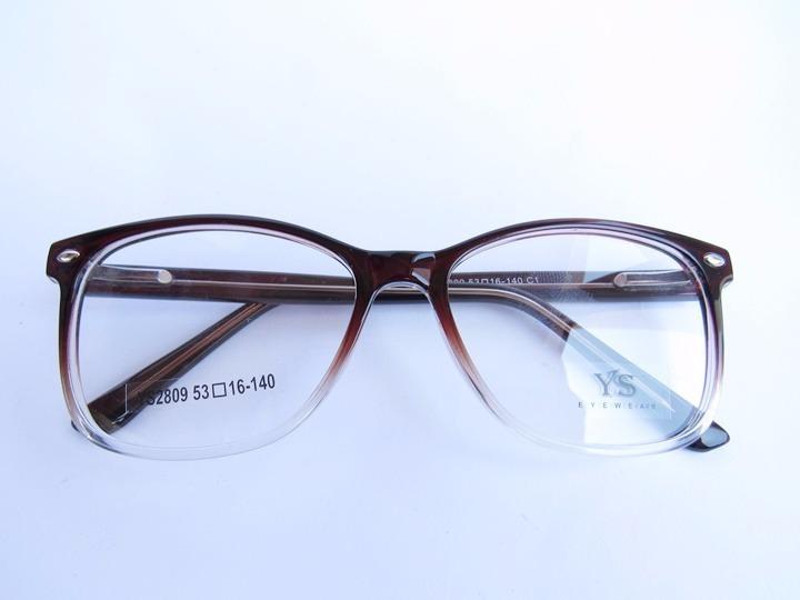 8bb758b17bad8 Oculos Para Grau Marrom Degrade Em Acetato - R  69
