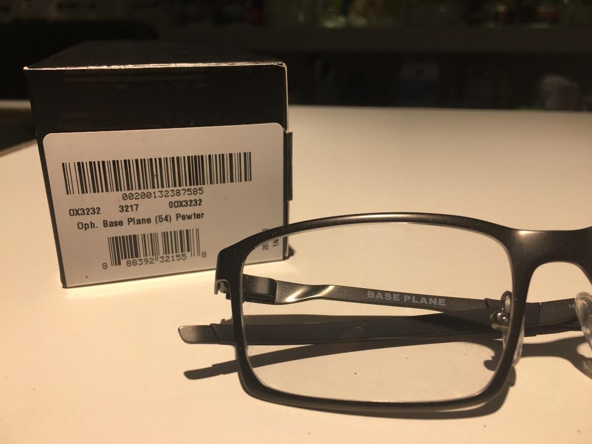 a40ef339e Óculos Para Grau Oakley Base Plane Pewter - R$ 570,00 em Mercado Livre