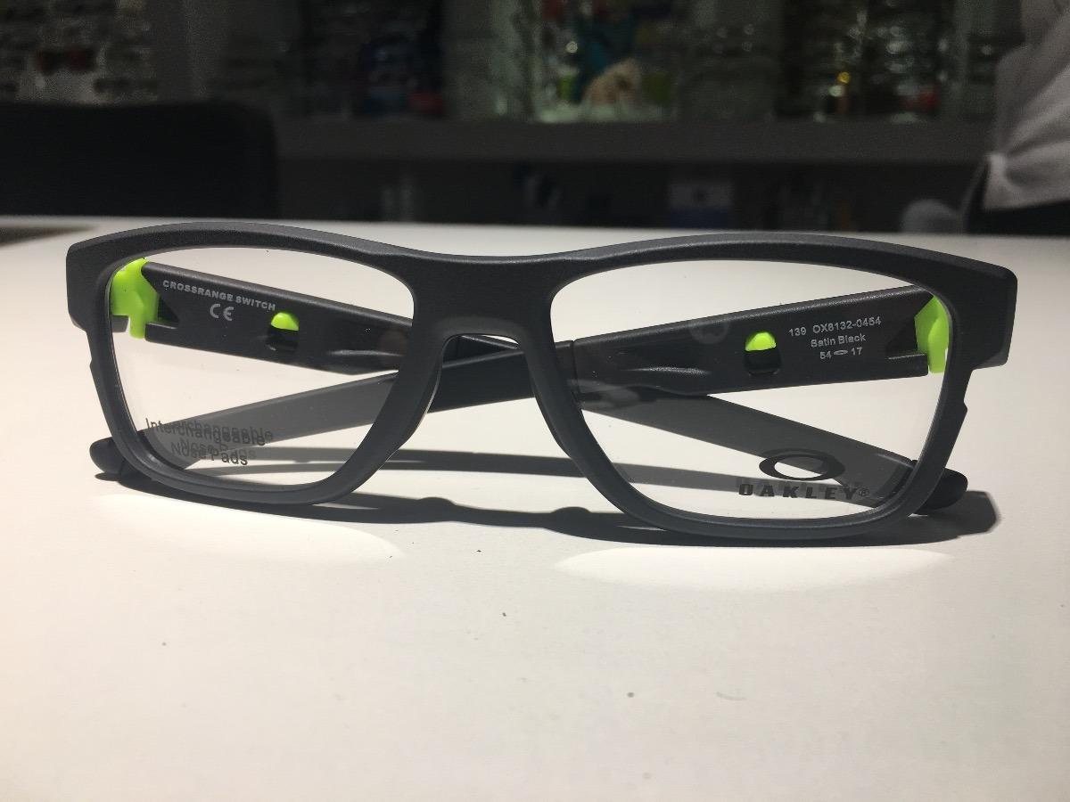 Óculos Para Grau Oakley Crossrange Switch Satin Black - R  462,00 em ... c361d04725