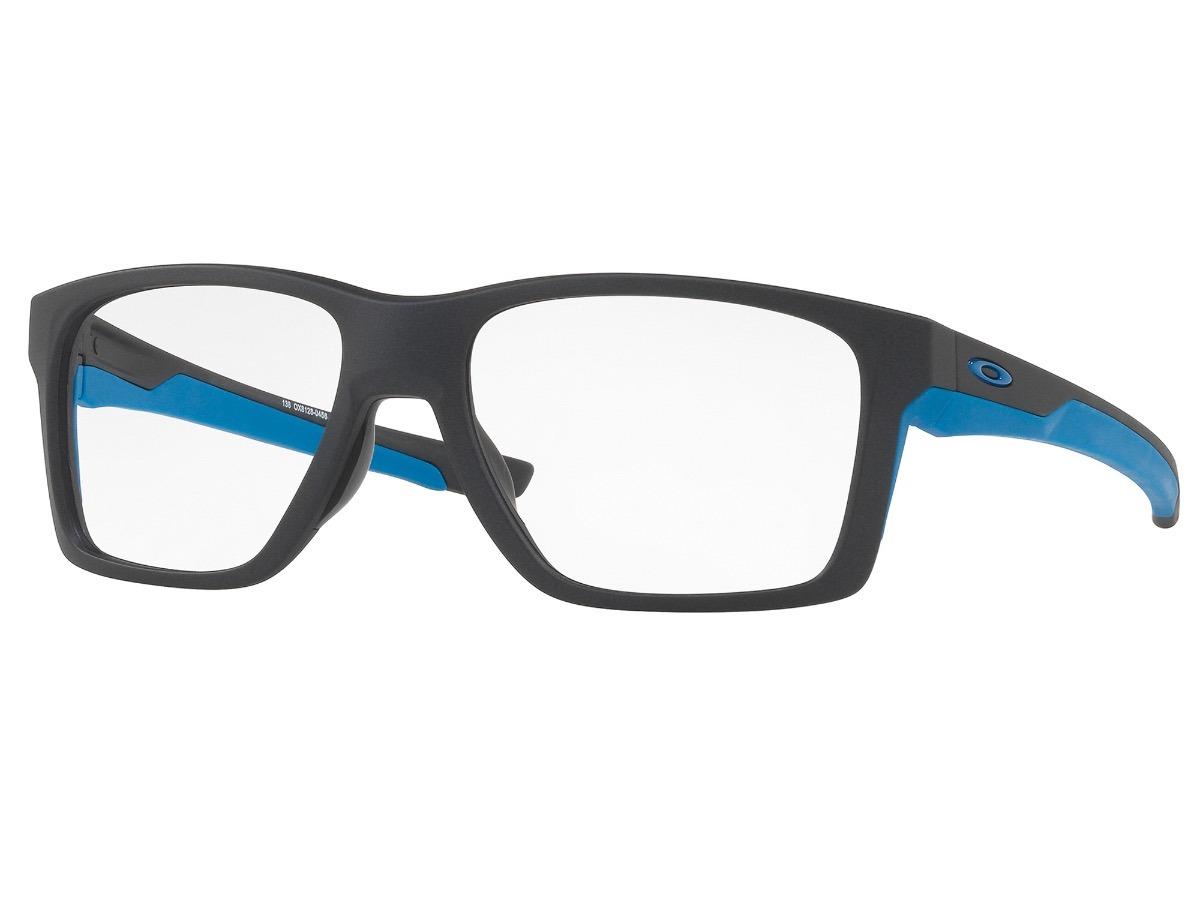 óculos para grau oakley mainlink mnpsteel com borrachas blue. Carregando  zoom. 012879b8bc