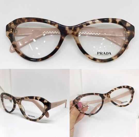 3bcdb9ac294fe Oculos Para Grau Onça Com Rose Novo Prada Vintage -pr104 - R  135