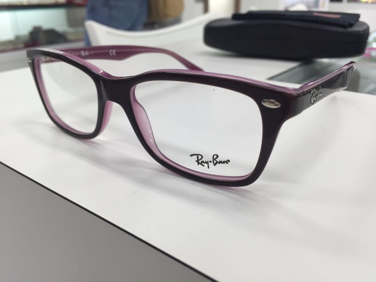 60f25918f7726 oculos para grau ray ban rb 5228 2126 53 original p. entrega. Carregando  zoom.