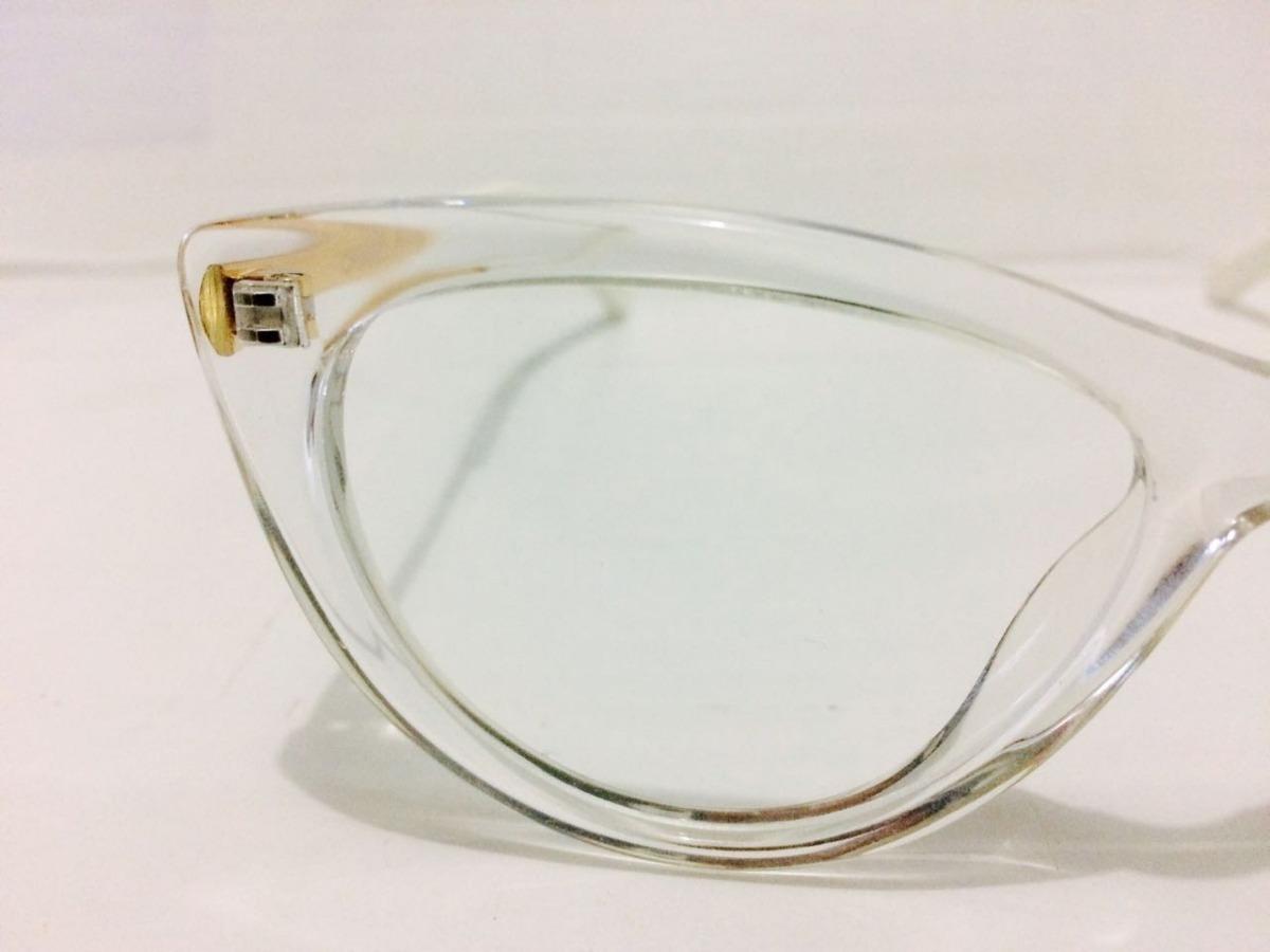 017fc6a7dfee9 Oculos Para Grau Transparente Em Acetato Blogueira -cn502 - R  135 ...