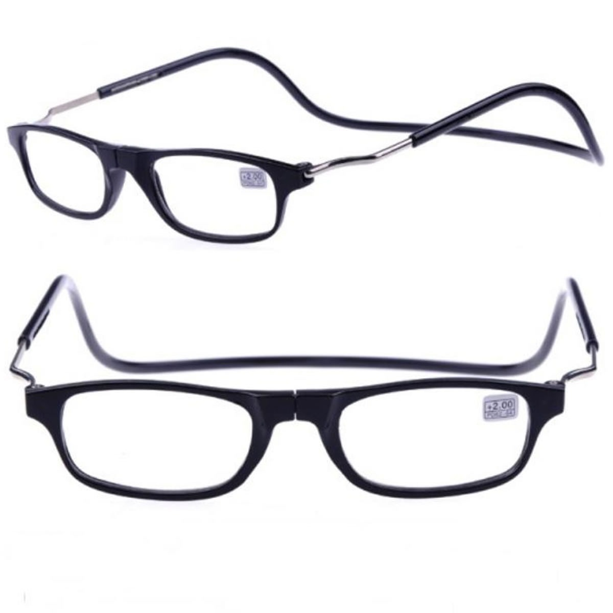 f34ceb625 óculos para leitura com imã suporte ajustavel frete grátis. Carregando zoom.