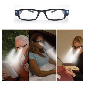 Óculos Para Leitura Com Led 2,00