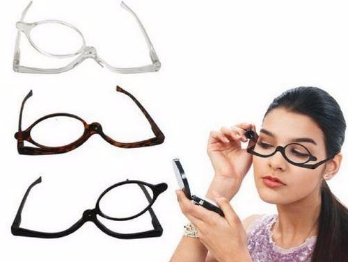 2c5c7221e Óculos Para Maquiagem - Lupa Grau Aumenta + 3,0 Vermelho - R$ 49,90 ...