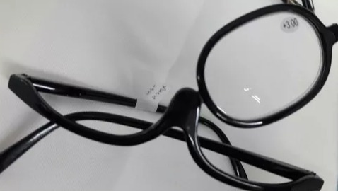 938c04847 Óculos Para Maquiagem Lupa Grau Aumenta +4,00 - Cor Preto - R$ 49,90 ...