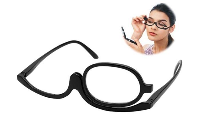 52a4470003959 Óculos Para Maquiagem Lupa Grau Aumenta +4