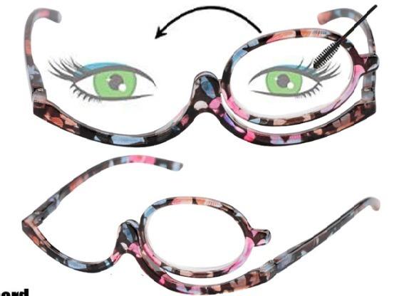 405894f85 Óculos Para Maquiagem Lupa Grau Aumenta +4,50 Cor Floral - R$ 89,90 em  Mercado Livre