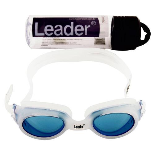 b10e38507 Óculos Para Natação Old Comfo Azul - Leader (ld267) - R  41