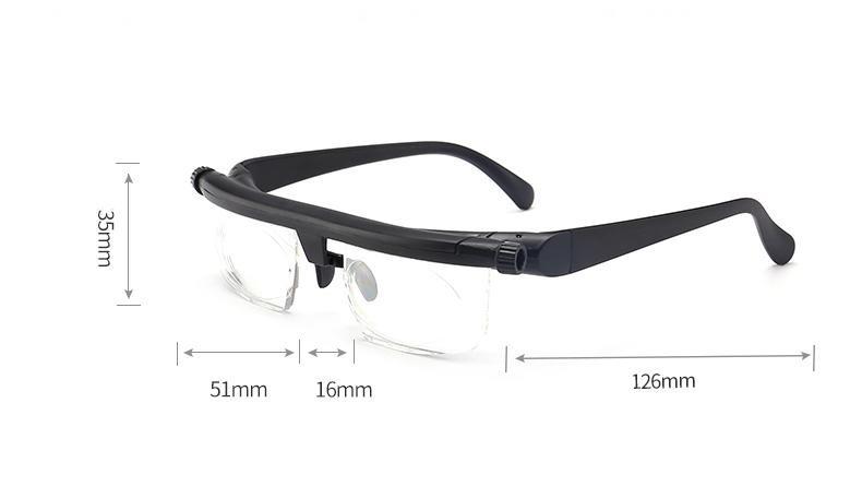 fc1af36fbe9f1 Óculos Para Perto Longe Leitura Ajustável Miopia Dioptria - R  180 ...