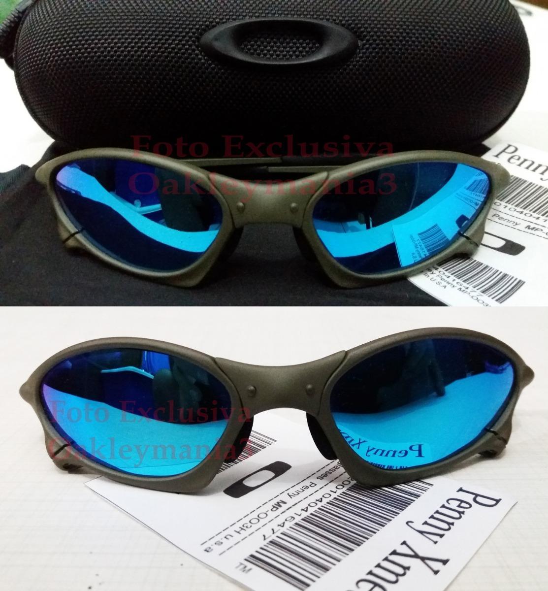oculos penny xmetal lente azul ice thug polarizada +case usa. Carregando  zoom. d9306c35aa