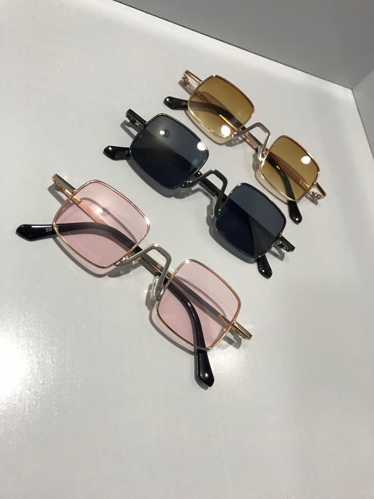 90ad22aba9ed2 óculos pequeno de sol retrô quadrado vintage unissex. Carregando zoom.
