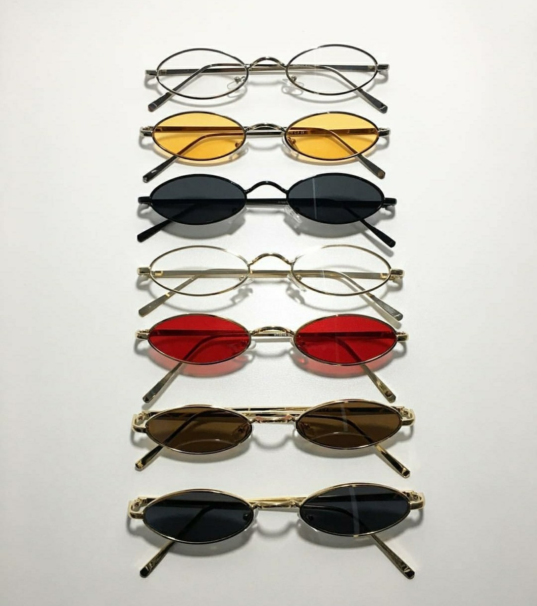 9cdeca193 Óculos Pequeno Quadrado Moda Tendencia Techno Hype Retro 90s - R$ 34 ...