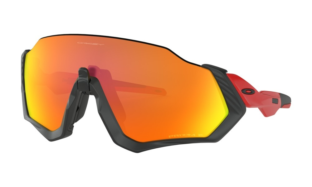 3f5657fbb4f02 óculos performance oakley flight jacket lente ruby polarizad. Carregando  zoom.