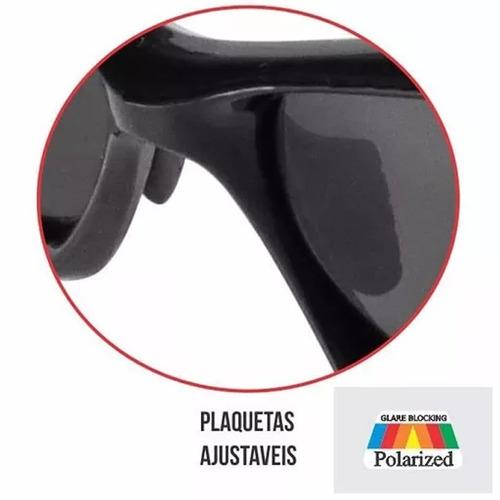 4ce1f6acc Óculos Pesca Polarizado Marine Sports Smoke Uv 15130 + Cord - R$ 84 ...