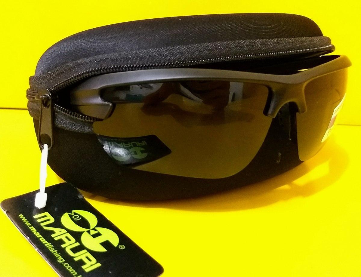 7187fa4d365ff óculos pesca polarizado maruri anti-reflexo dz- 6575 uv. Carregando zoom.