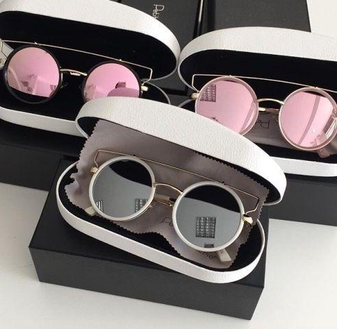 2ce2936550826 Oculos Petit Cherie Gatinha Metal Com Aro Redondo Colorido - R  189 ...