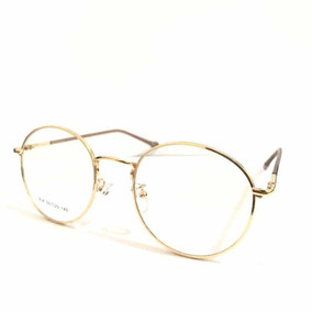 73a58d57c Oculos Retro Redondo Feminino - Óculos Preto no Mercado Livre Brasil