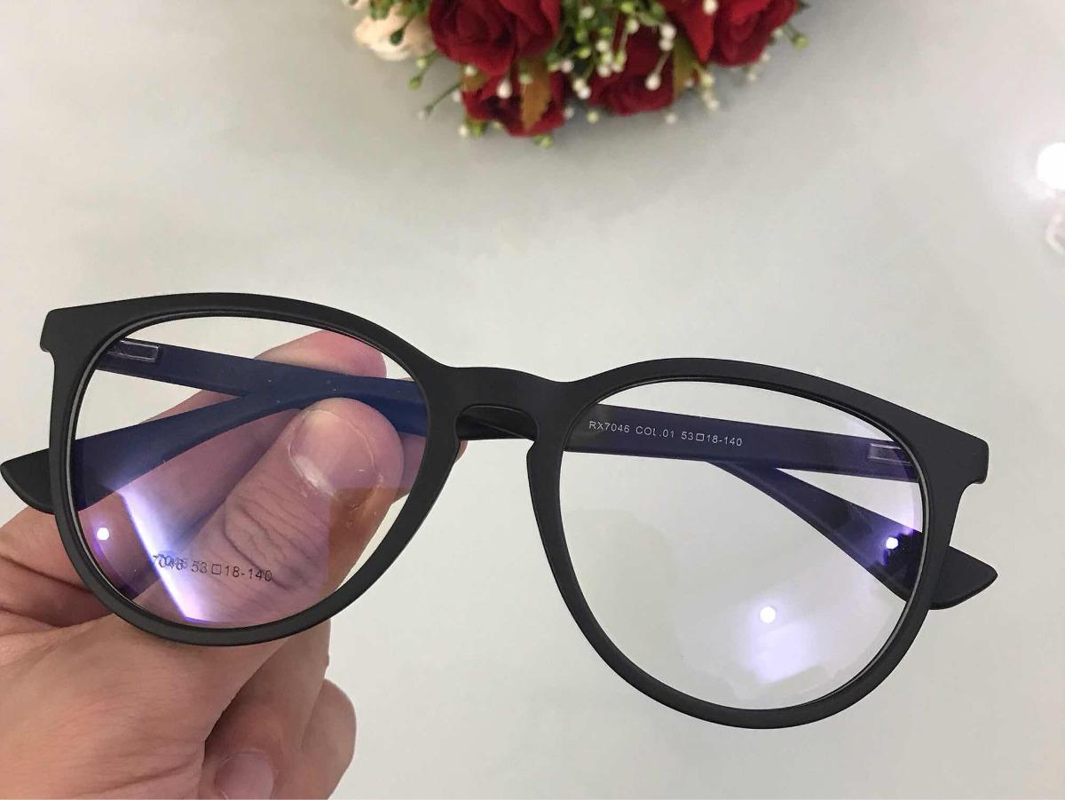 374c436a65925 Óculos P grau Masculino Femenino Retro Erika Acetato Rr7046 - R  89 ...