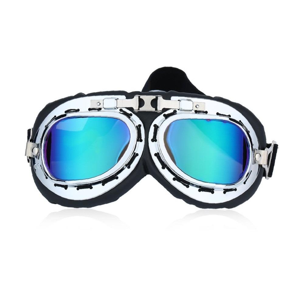 a3c7a5d9e51a8 óculos pilot goggles vintage scooter aviador motoqueiro. Carregando zoom.