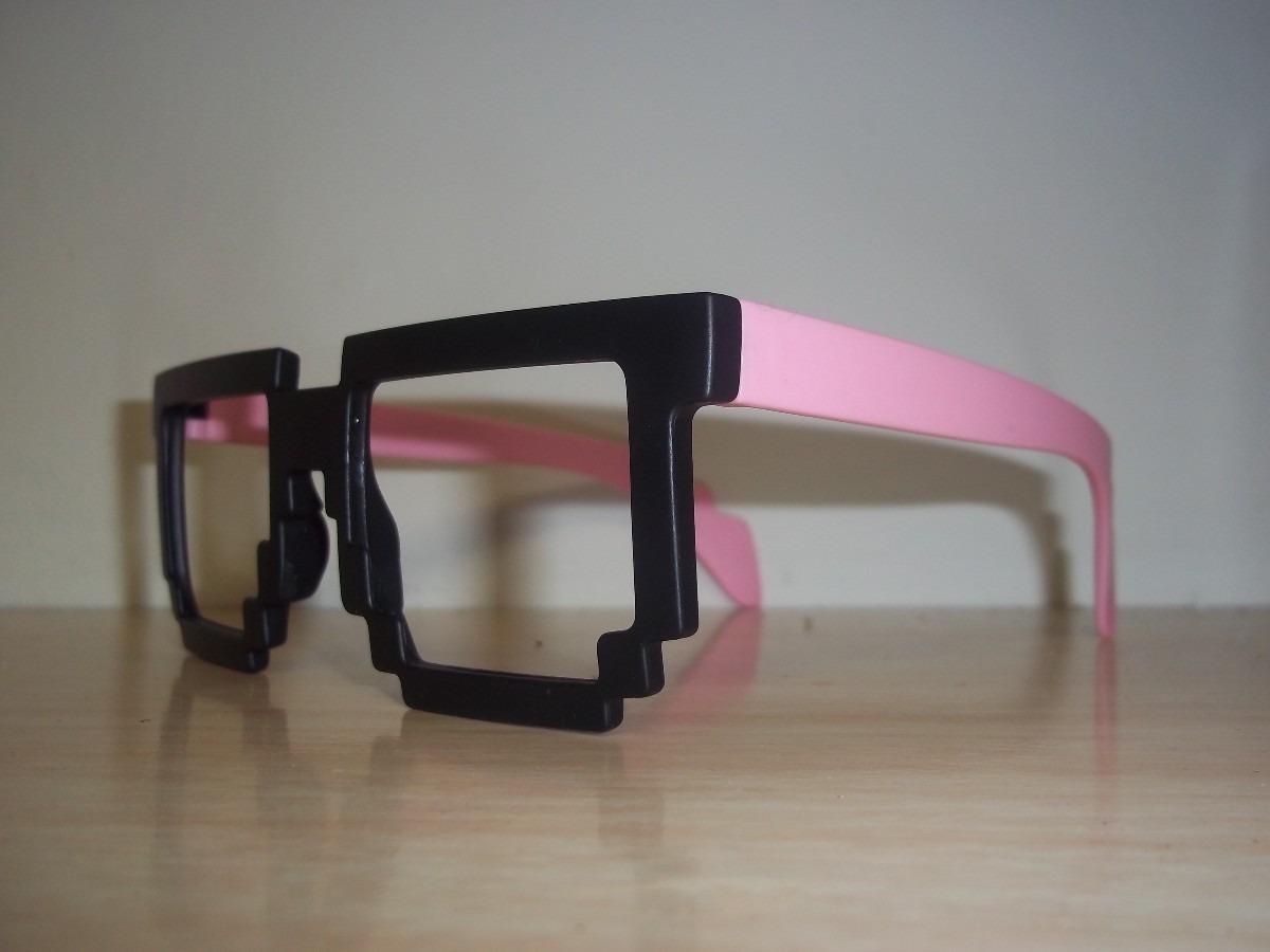 caf55d44780a8 Óculos Pixel Rosa Maior Sucesso Da Europa Exclusivo Opticlic - R ...