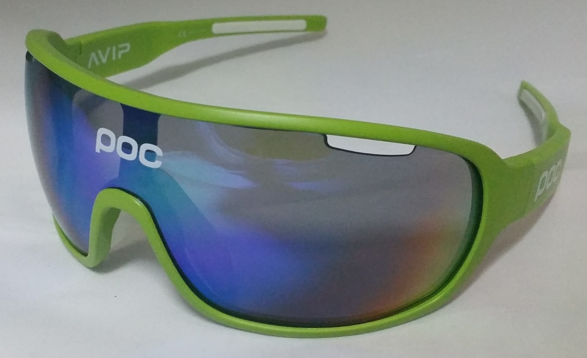 Óculos Poc Do Blade Avip Verde - 4 Lentes - Ciclismo Corrida - R ... 340ee32faa