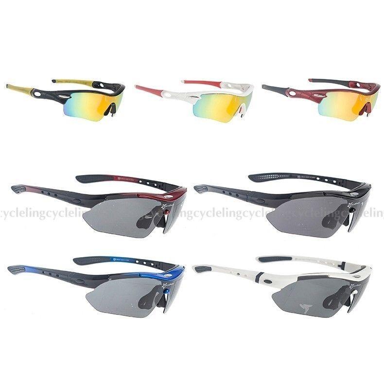 fdfb8ca17b029 Oculos Polarizado 5 Lentes Esportivo Bike Ciclismo Corrida - R  120 ...