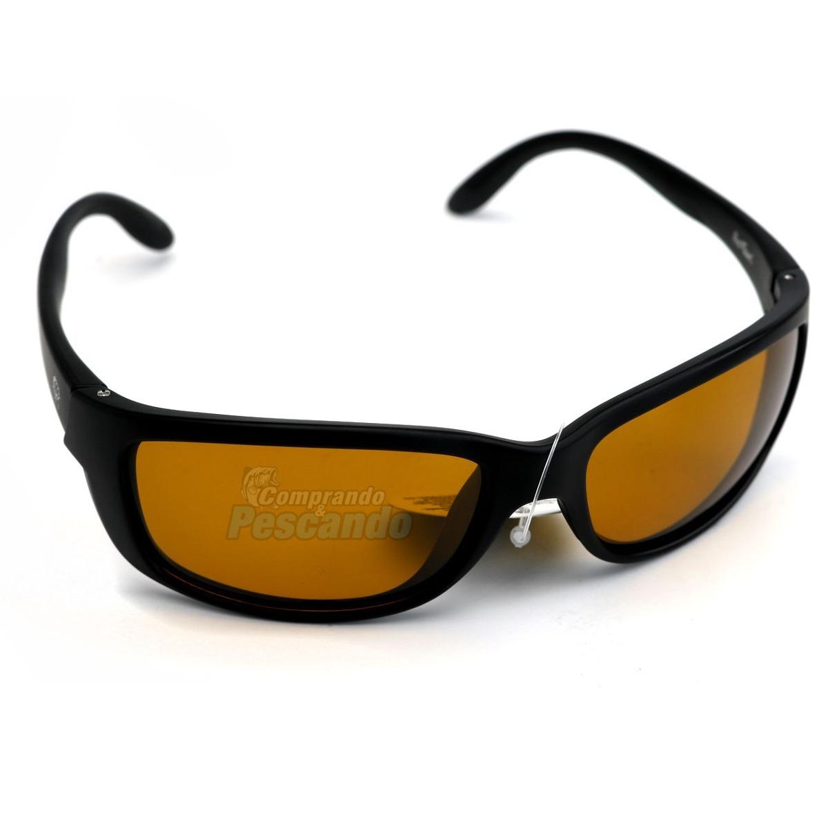 ab7263e886b87 Óculos Polarizado Mako Pro-tsuri 10p0029 Lente Âmbar - R  108,89 em ...